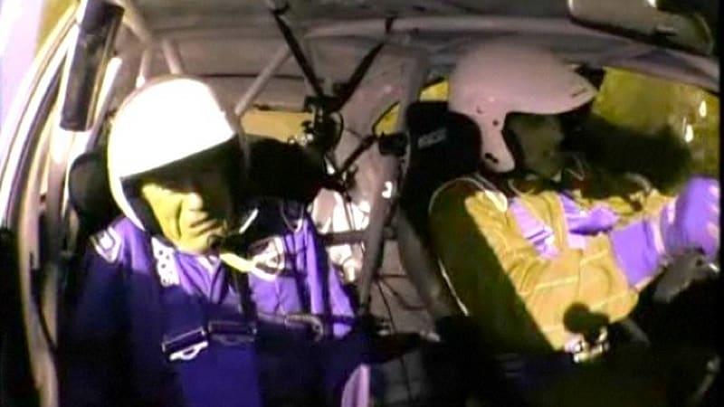 John Barrowman Tiff Needell Fifth Gear Crash